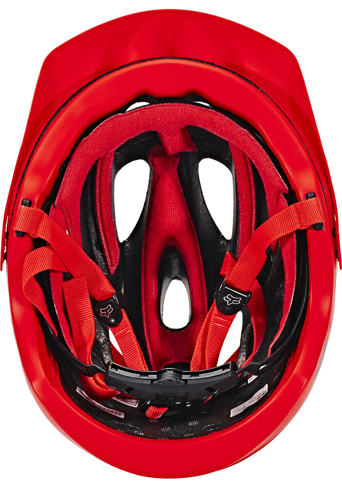 Fox Flux Solids Casco Rojo Bikester Es